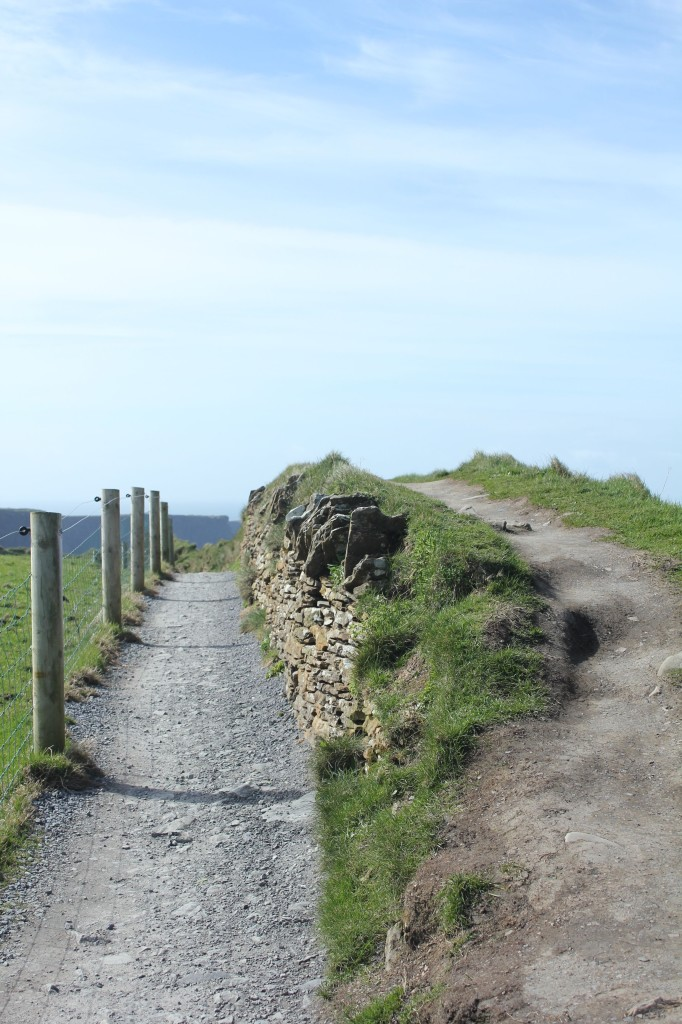 Path at the Cliffs of Moher